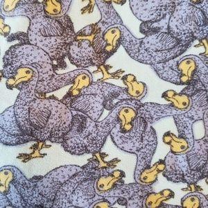 One size LuLaRoe Dodo bird leggings